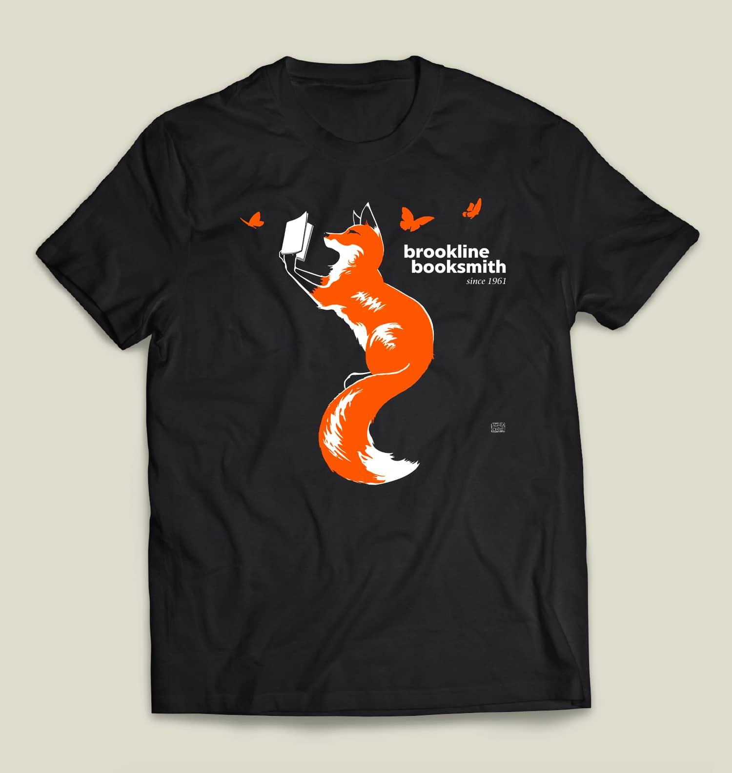 Booksmith 60th Anniversary Fox T-Shirt