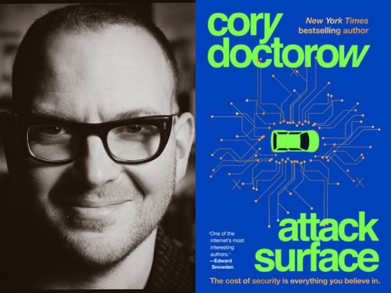Cory Doctorow with Amber Benson and John Rogers