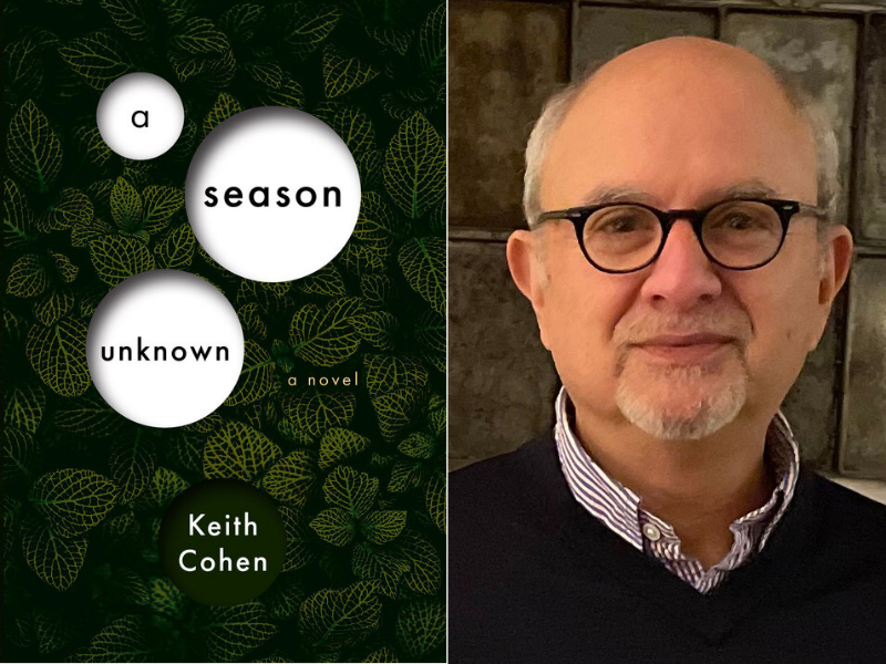 Brookline Booksmith presents Keith Cohen with k+p press: A Season Unknown