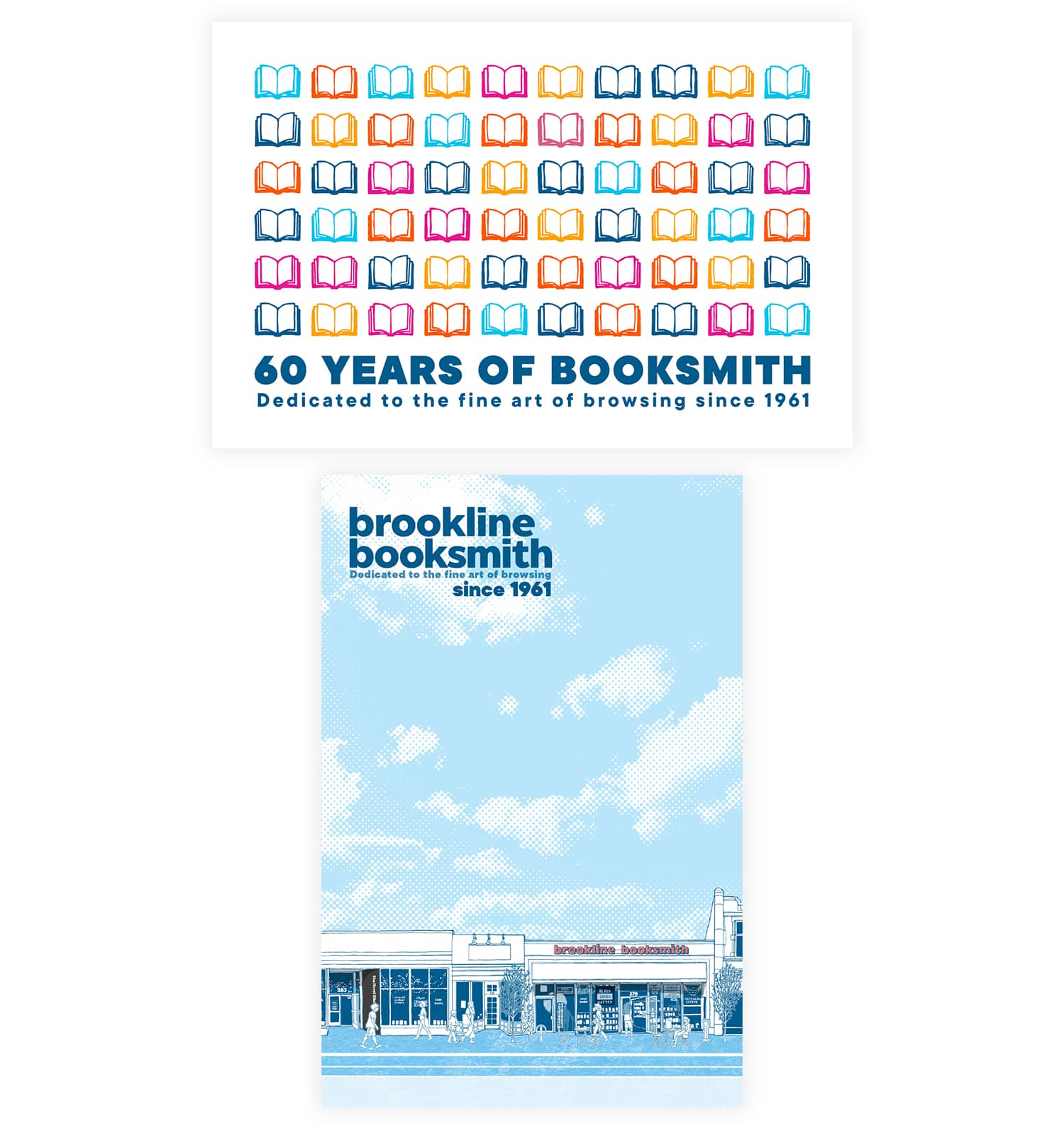 60th Anniversary and  Streetscape Postcards