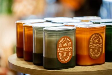 Hand Poured Fragranced Soy Candles<br>bring spark to any room